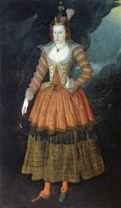 John_de_Critz_Woman_in_Masque_Costume_as_a_Power_of_Juno