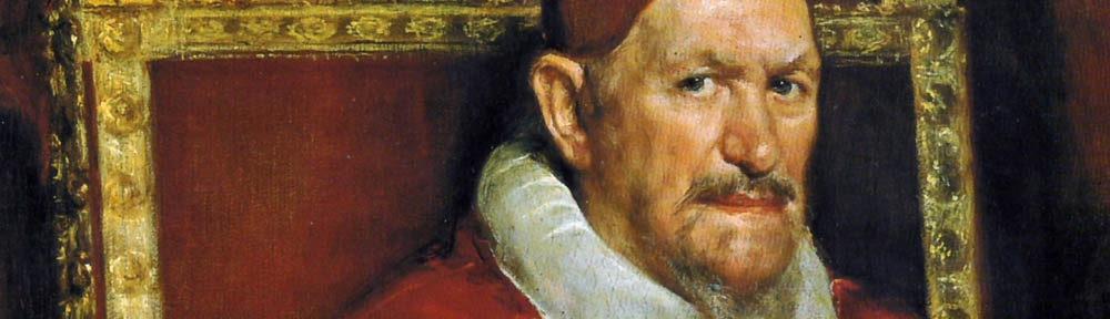 Diego Velázquez (1599-1660), 'Portrait of Pope Innocent X', c. 1650, Galleria Doria Pamphilj, Rome, detail