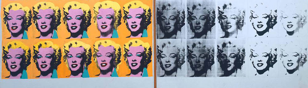 Andy Warhol (1928-1987), 'Marilyn Diptych', 1962, Tate, detail