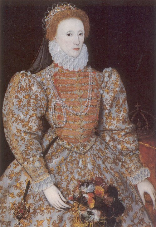 Anon, Darnley Portrait of Elizabeth I, c1575