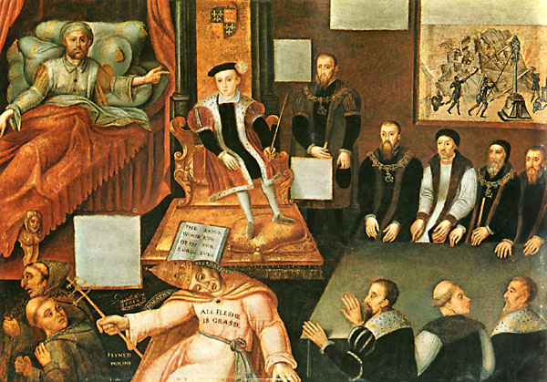 Anon Edward VI and the Pope after 1568