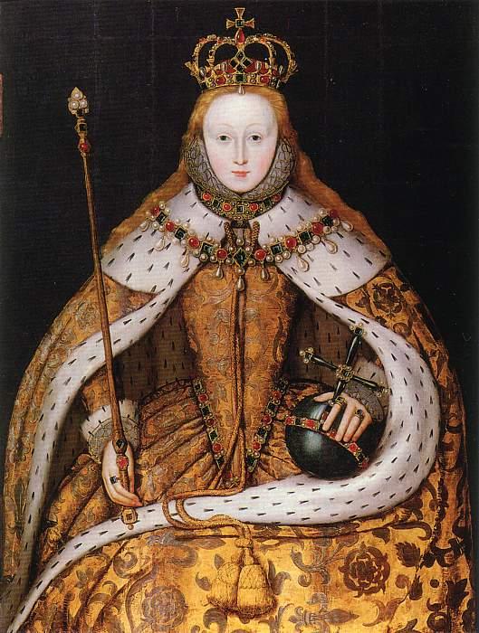 Anon, Elizabeth Coronation Portrait, c1600