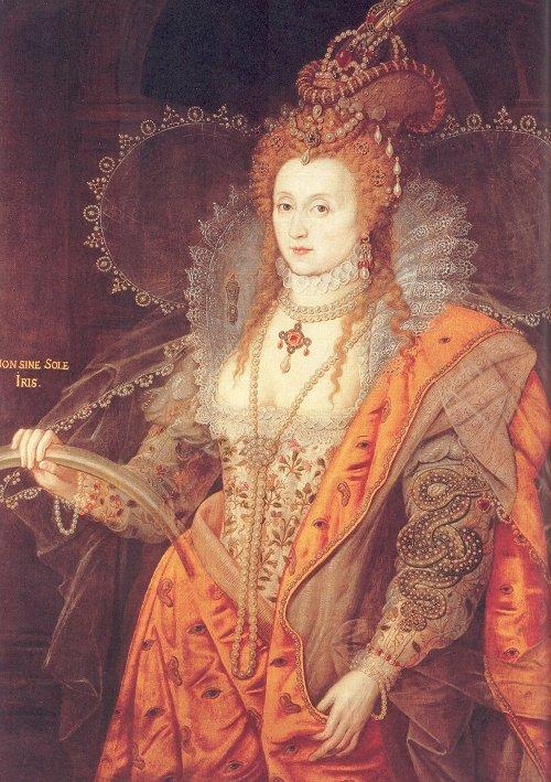 Anon Elizabeth I Rainbow Portrait c1600