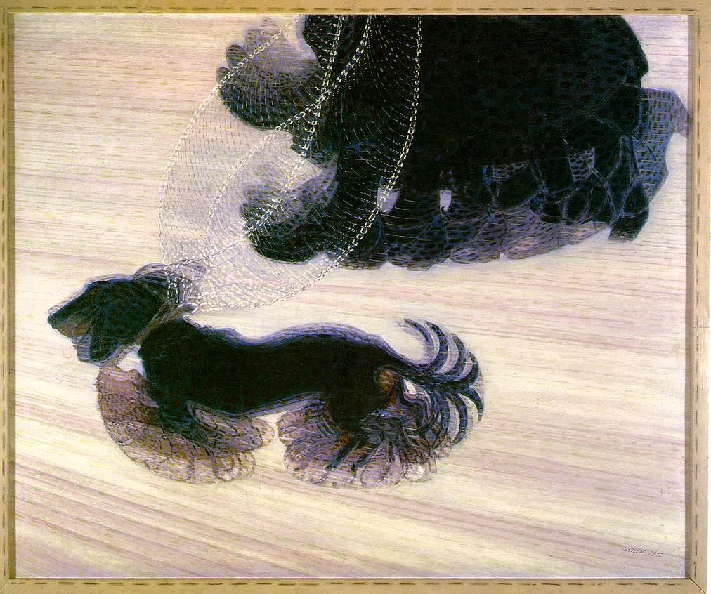 Balla_Dog_on_a_Lead_1912