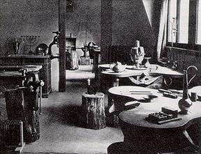 Bauhaus_Metal_Workshop_Weimar_1923