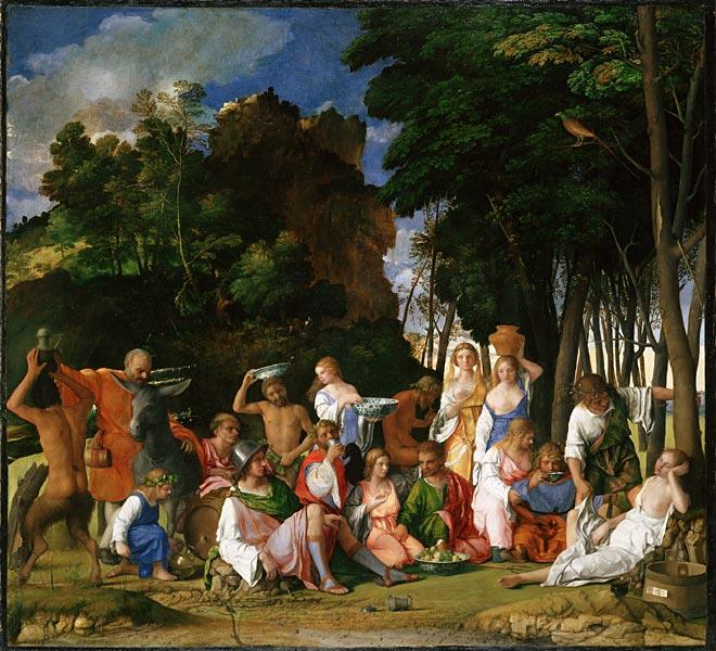 Bellini_Feast_of_the_Gods_Titian_Dosso_1514-1529