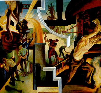 Benton_Steel_from_America_Today_murals_1930