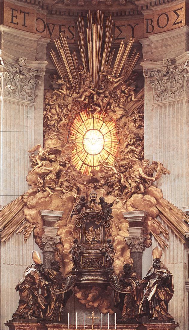 Bernini_The_Throne_of_Saint_Peter_1657-66