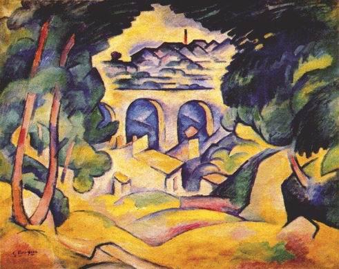 Braque_Landscape_at_LEstaque_1907