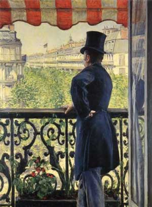 Caillebotte_Man_on_the_Balcony_1880