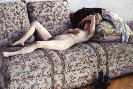Caillebotte_Nude_on_a_Couch_1882