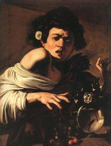 Caravaggio_Boy_Bitten_by_a_Lizard