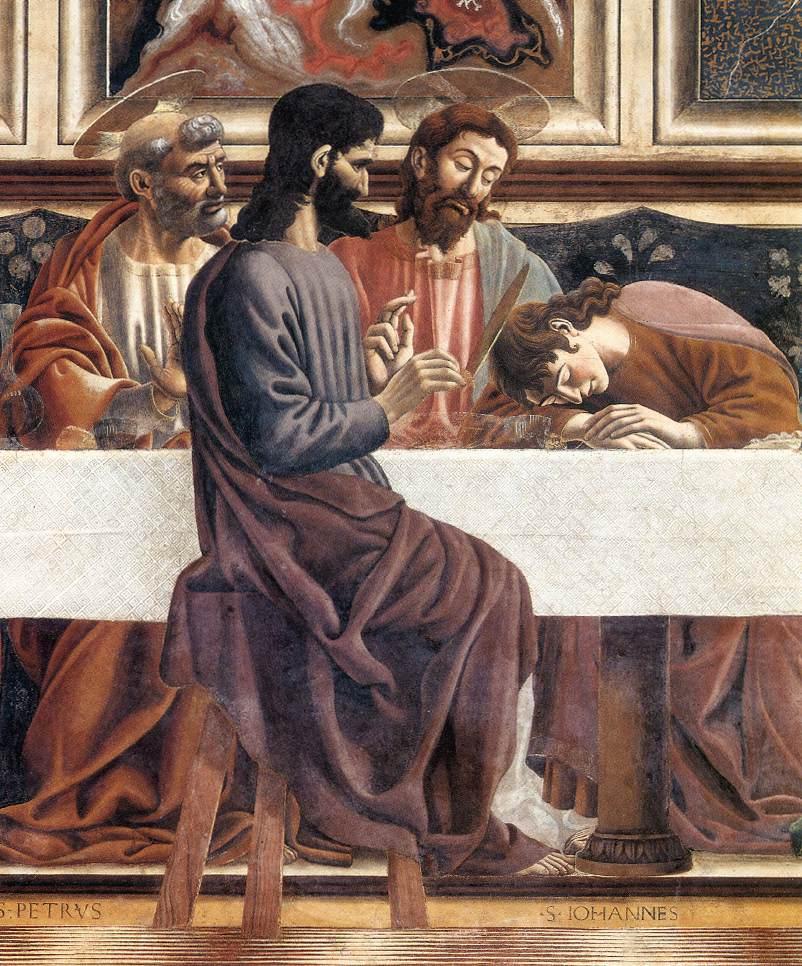 Castagno_Last_Supper_detail_1447