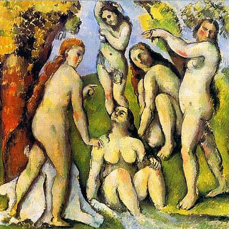 Cezanne_Five_Bathers_1885-87