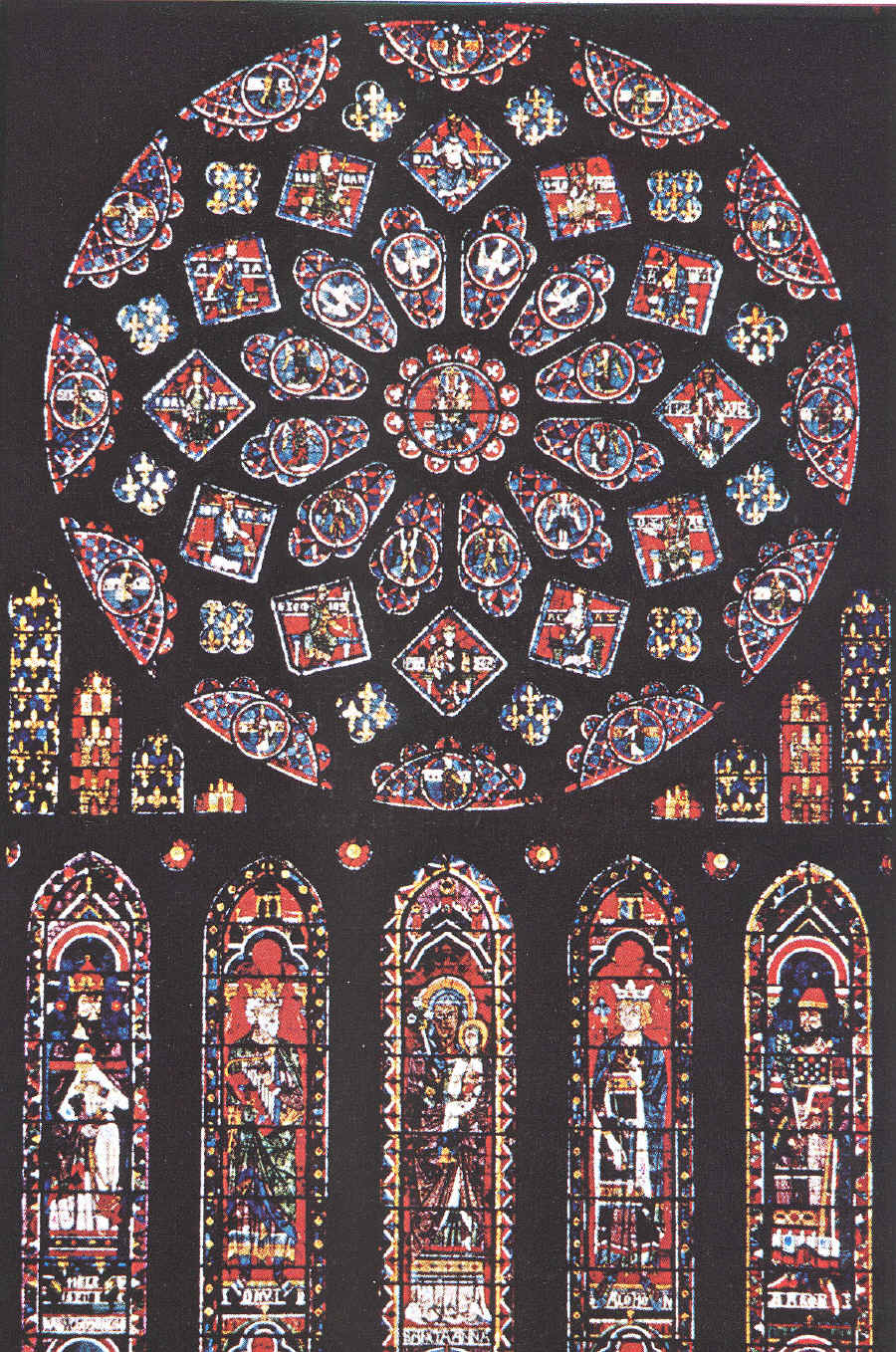Chartres_Rose_window_North