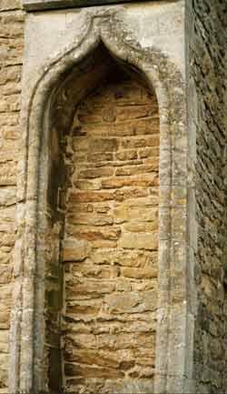 Church niche
