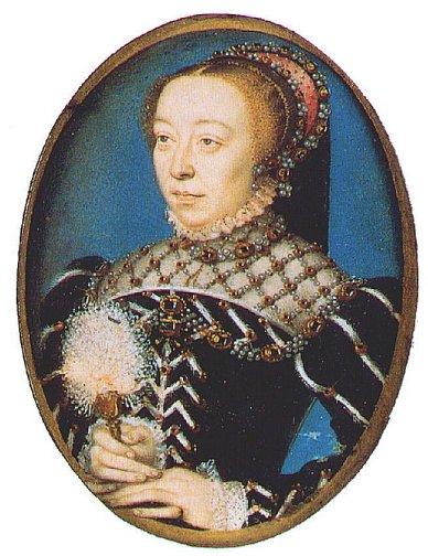 Clouet-Francois Catherine de Medici c1555