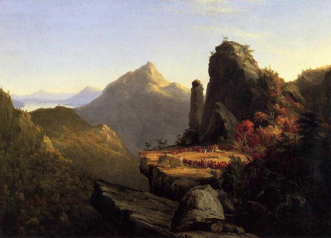 Cole_Course_of_Empire_Arcadia_1838