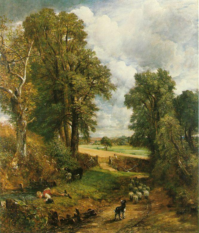 Constable_The_Cornfield_1826