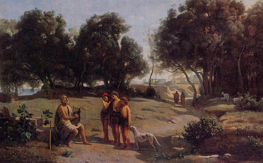 Corot_Homer_and_the_Shepherds_1846