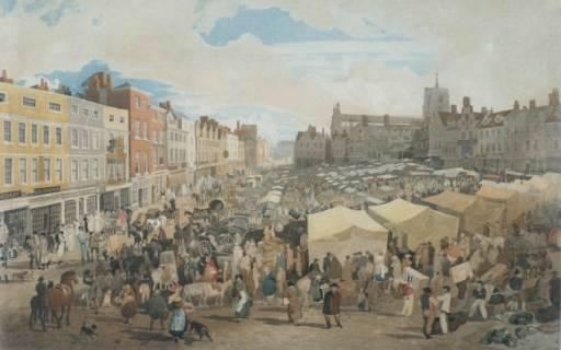Cotman_Norwich_Market_Place_c1809
