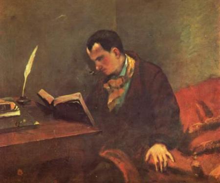 Courbet_Portrait_of_Baudelaire_1847