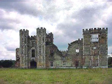 Cowdray House Sussex 1540s