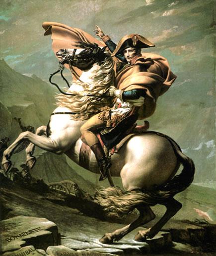 David_Napolean_at_the_St_Bernard_Pass_1800