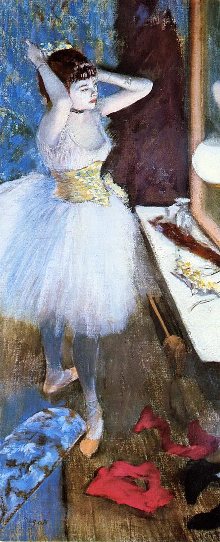 Degas_Dancer_in_her_Dressing_Room_1880