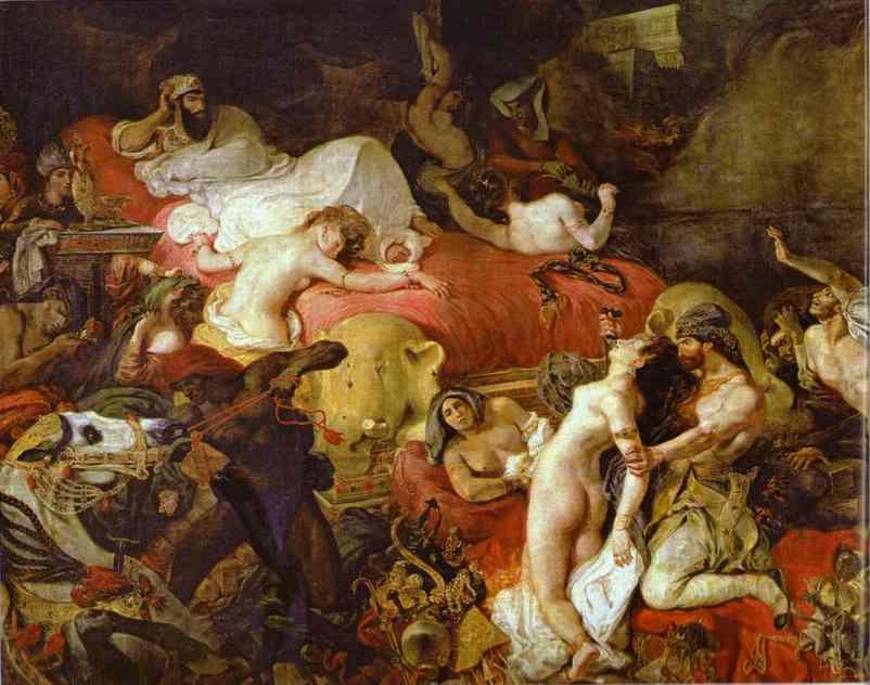 Delacroix_The_Death_of_Sardanapalus