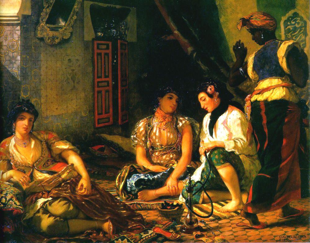 Delacroix_Women_of_Algiers_1834