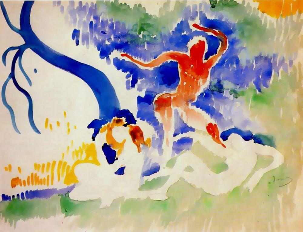Derain_Bacchic_Dancer1906