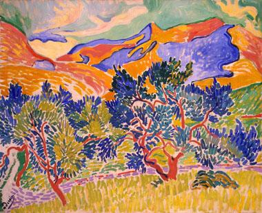 Derain_Mountains_at_Collioure_1905