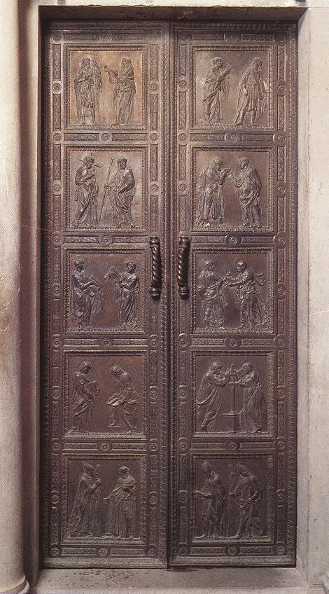 Donatello Baptistry doors St Lorenzo 1440-43