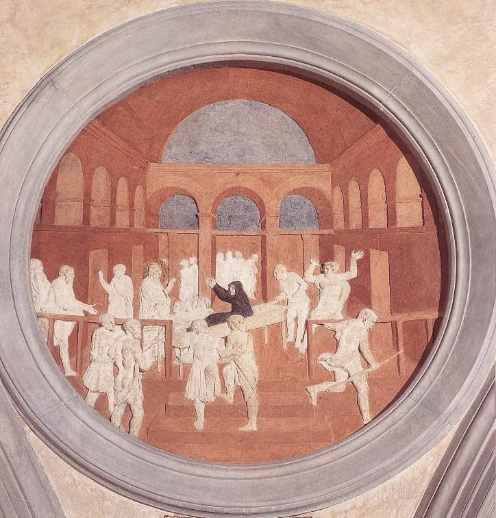 Donatello_Resurrection_of_Druisana_1428-43_San_Lorenzo