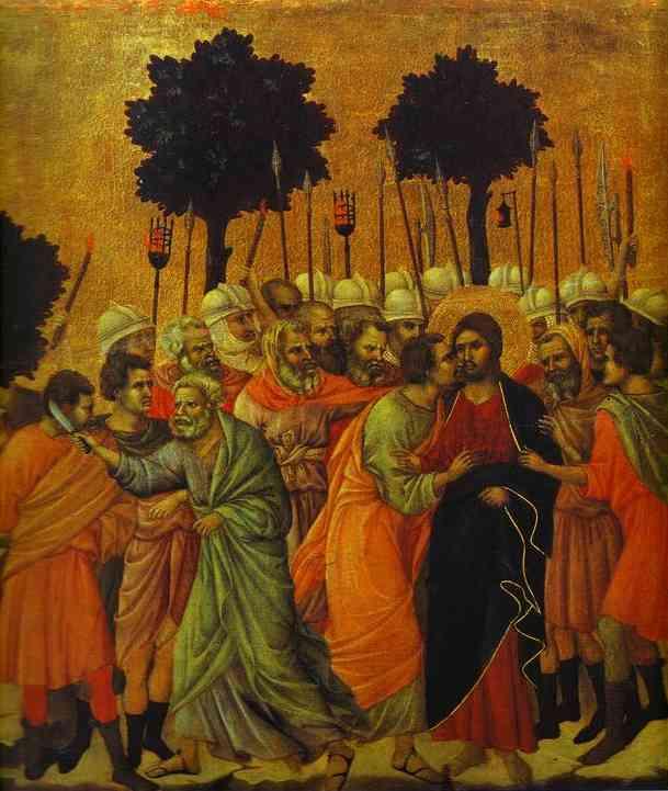 Duccio_The_Seizing_of_Jesus