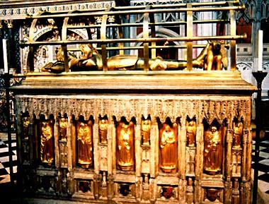 Earl of Warwick tomb 1440s
