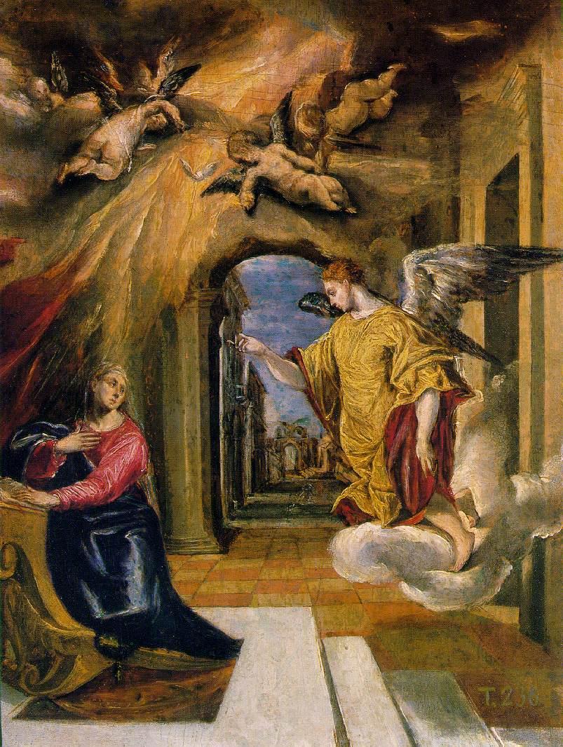 El_Greco_The_Annunciation_c1590