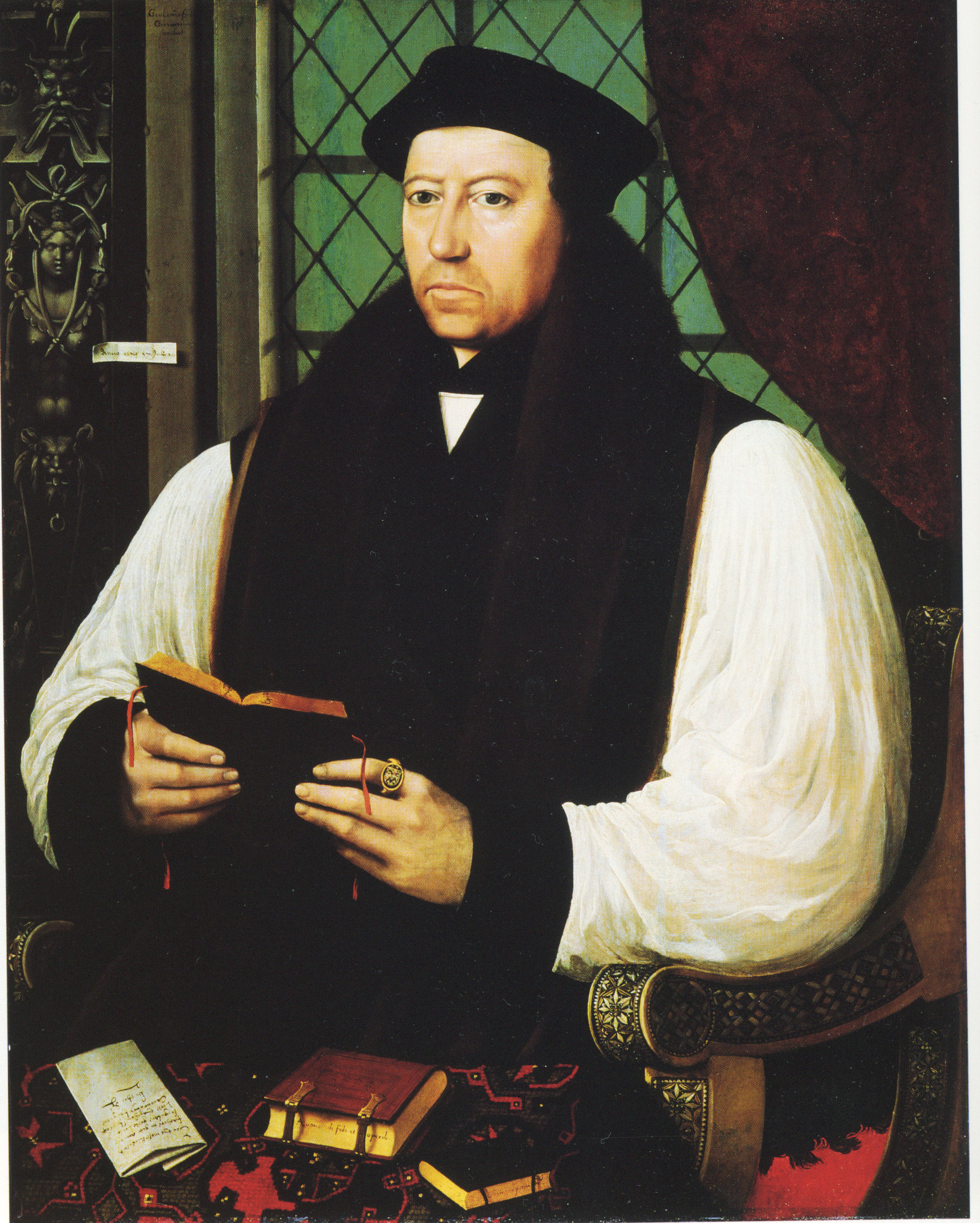 Gerlach Flicke, Archbishop Thomas Cranmer, 1545-6
