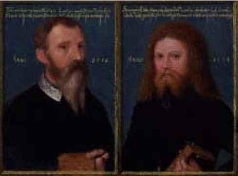 Flicke Self-portrait 1554