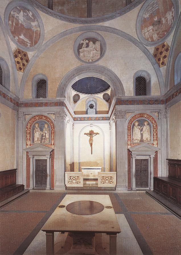 Florence_S_Loranzo_Old_Sacristy_interior