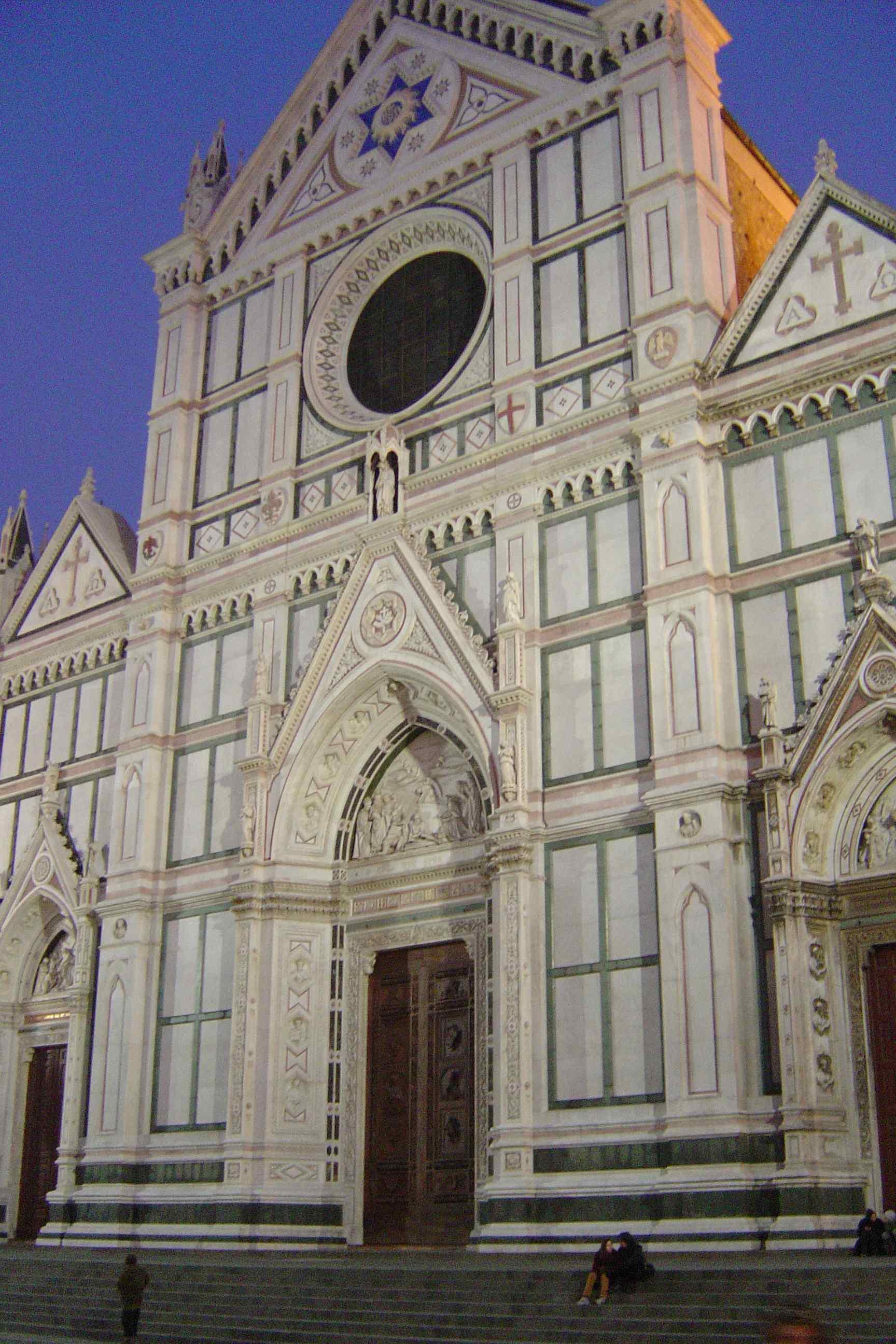 Florence_Santa_Croce_facade_1292