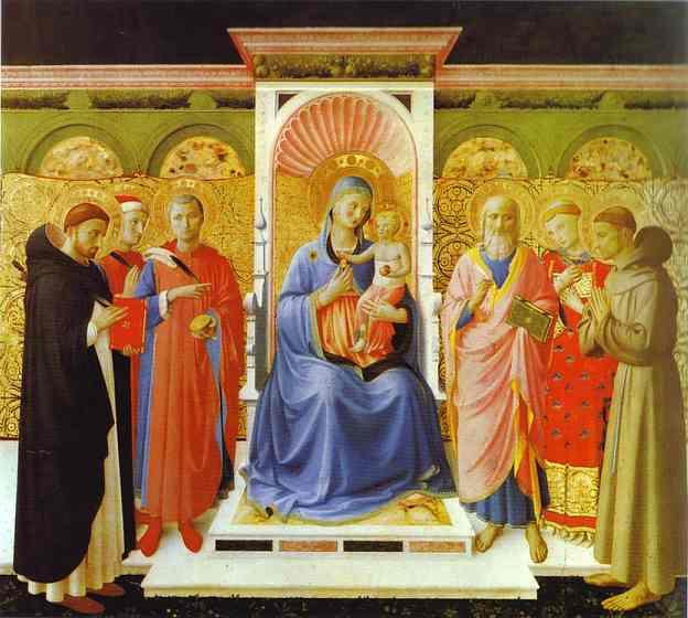 Fra Angelico Annalena Altarpiece c1437-40