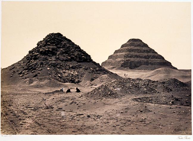Frith_Pyramids_of_Sakkarah_1863