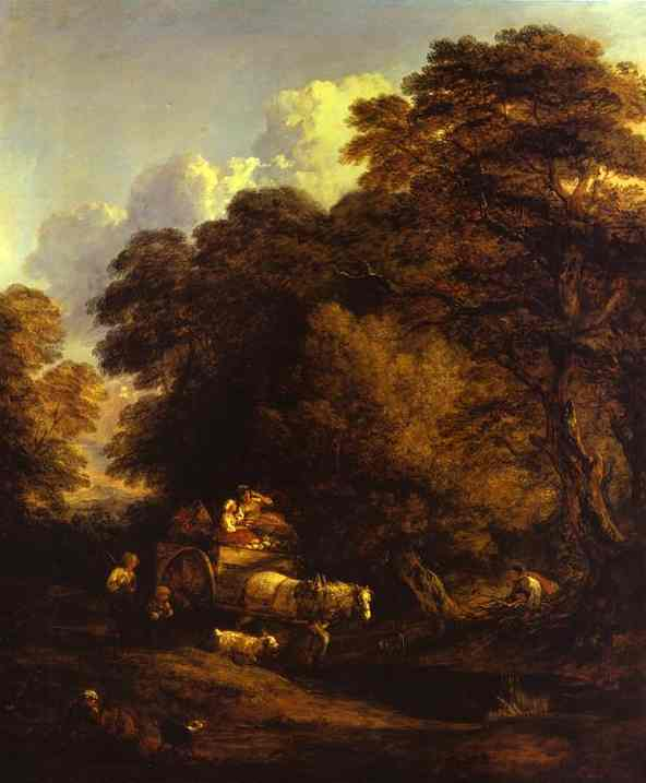 Gainsborough_The_Market_Cart_1786