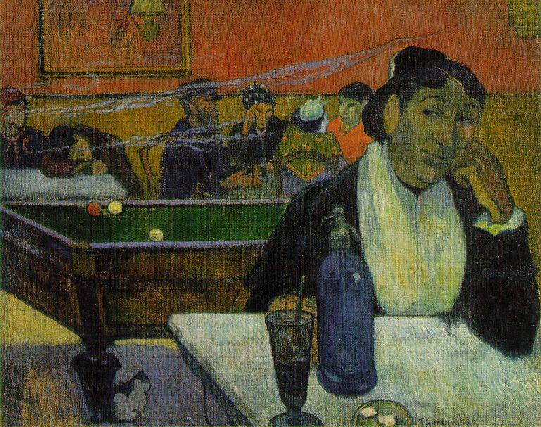 Gaugin_At_the_Cafe_1888