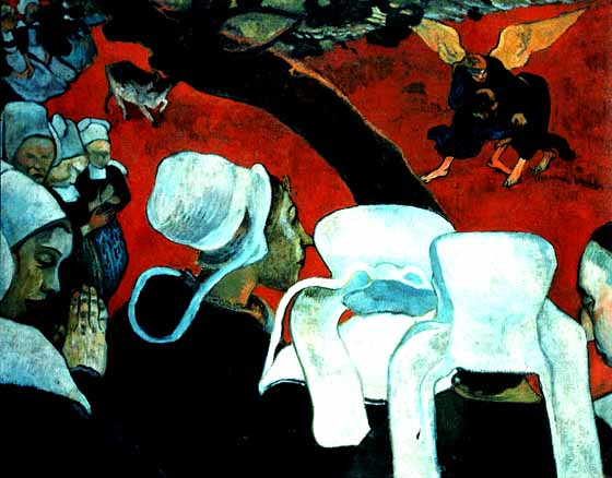 Gaugin_The_Vision_after_the_Sermon_1889