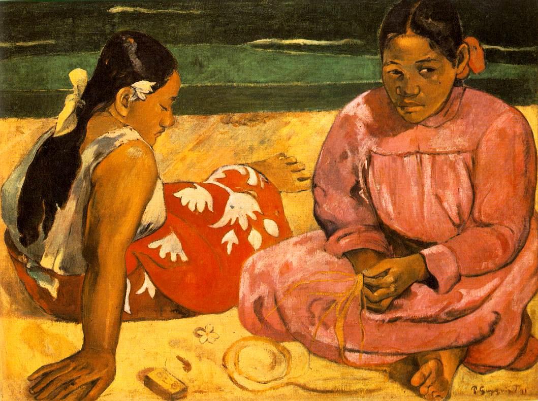 Gauguin_Tahitian_Women_-_On_the_Beach_1891