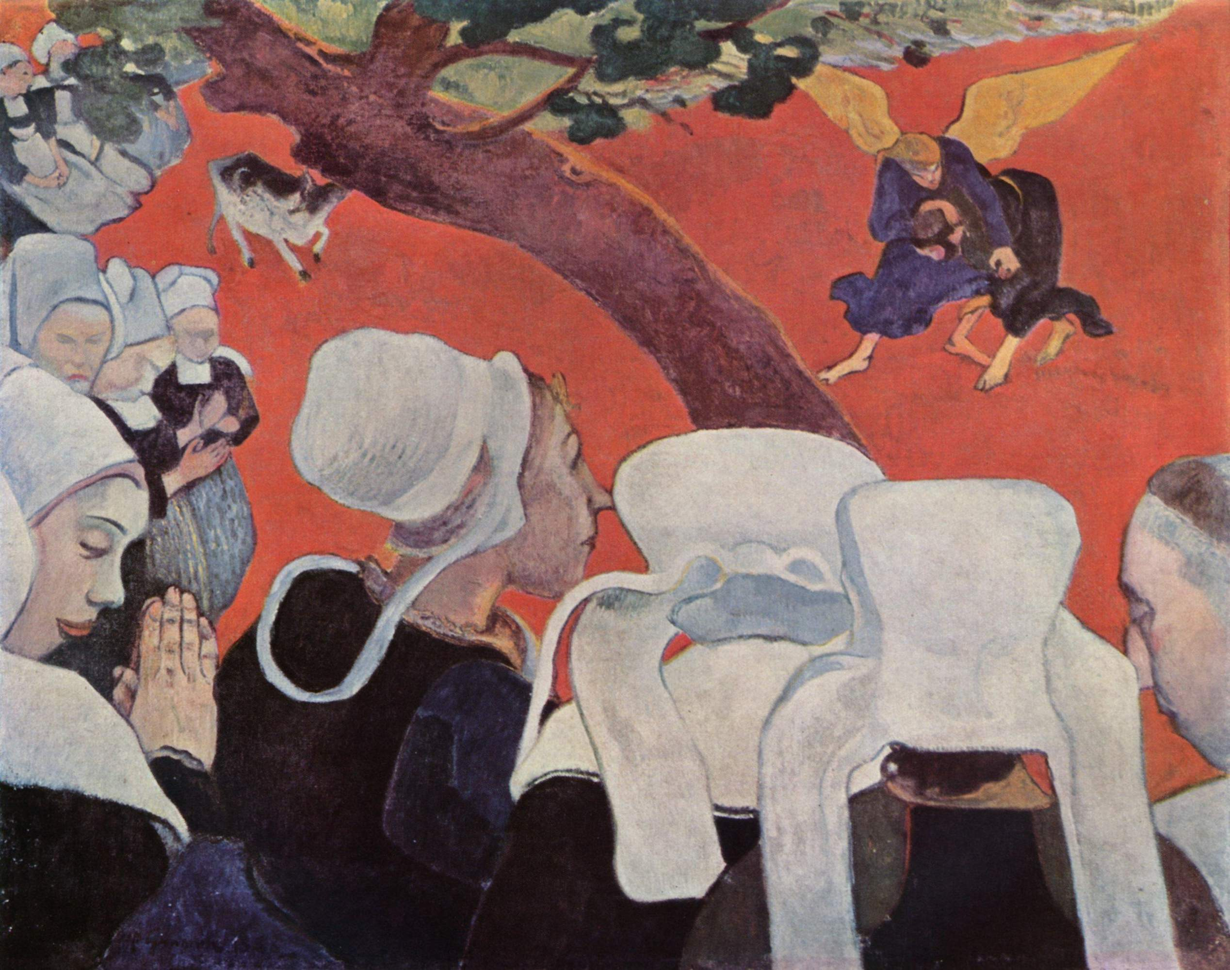 Gauguin_The_Vision_after_the_Sermon_1888