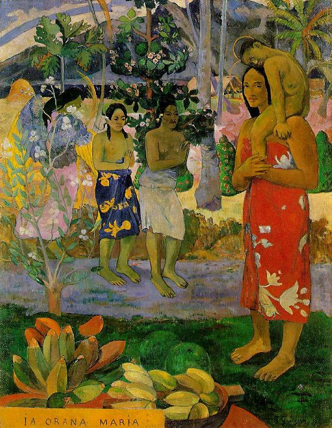 Gauguin_We_Hail_Thee_Mary_1891
